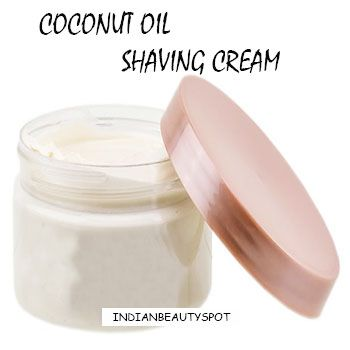 Coconut oil Shaving Cream