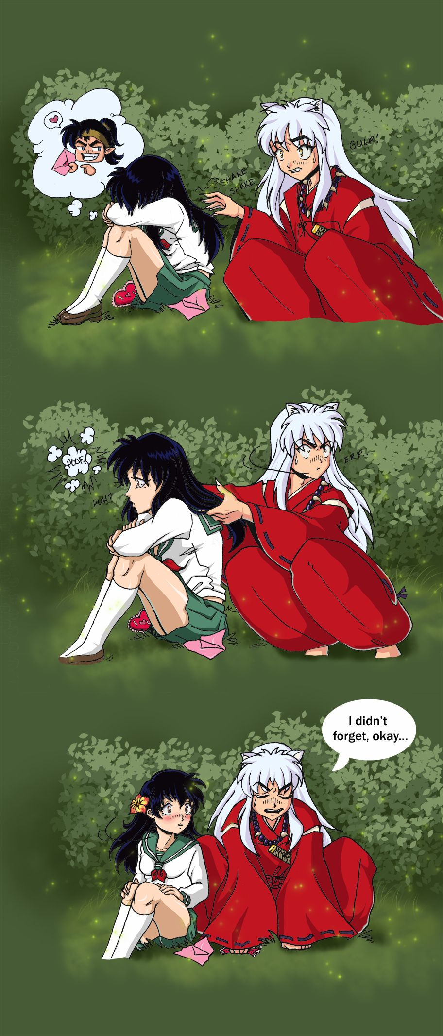 Inuyasha and Kagome- Love and Kisses Forever - YouTube