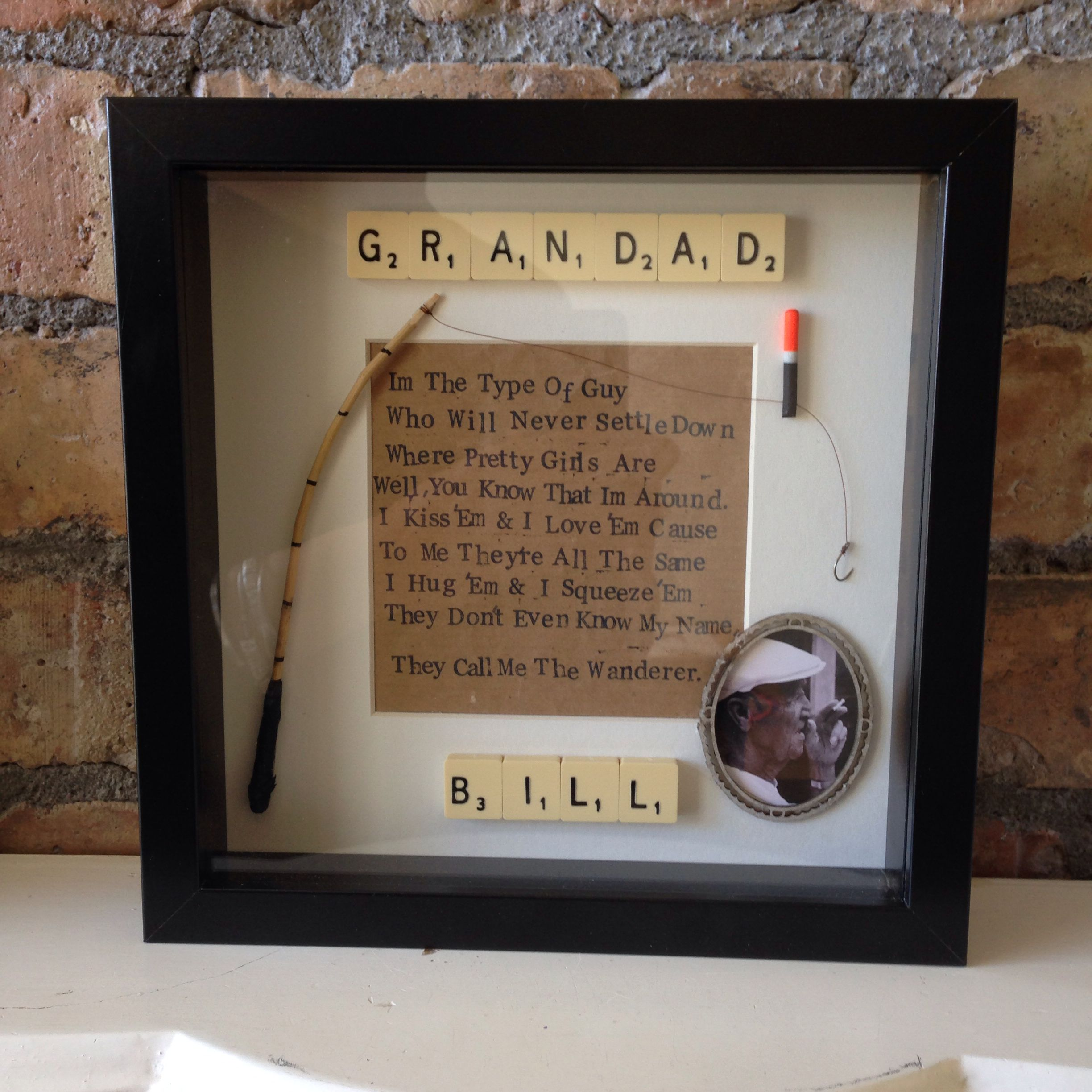 80th Birthday Frame From Grandson To Grandad Known As The
