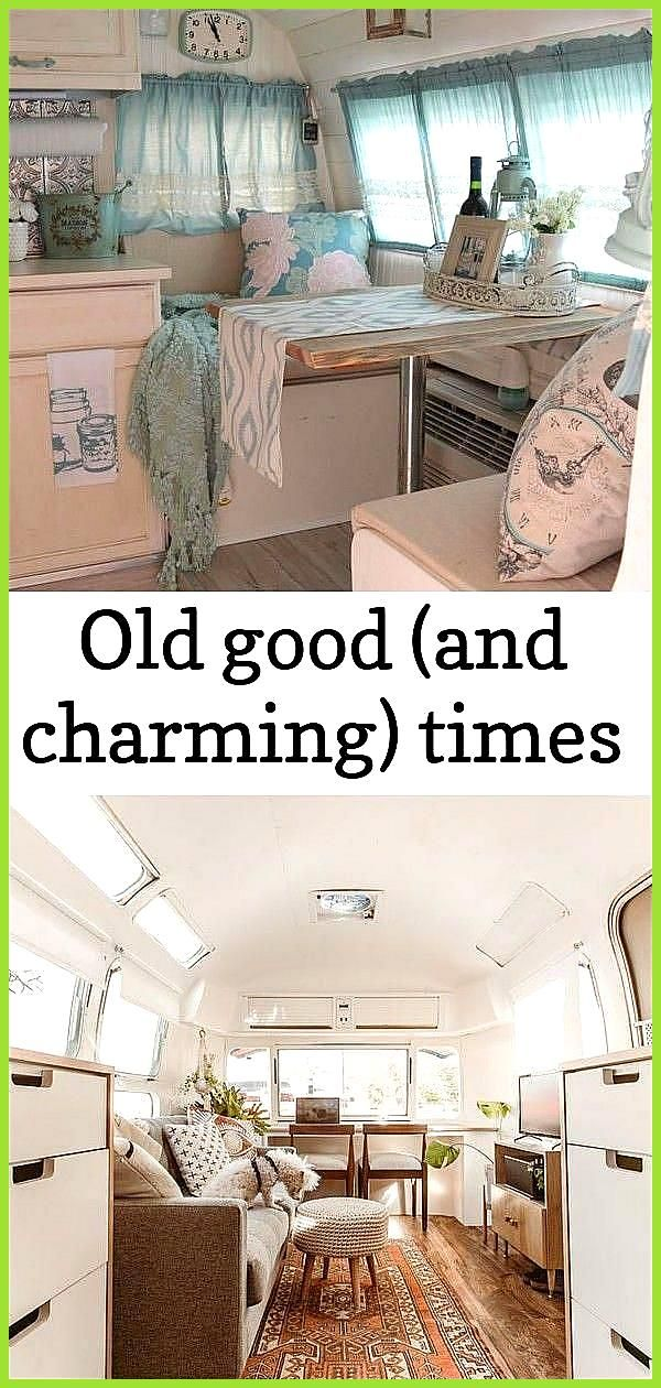 Old good and charming times Old good and charming times 19 Awesome Vintage Campers and Camper Van v