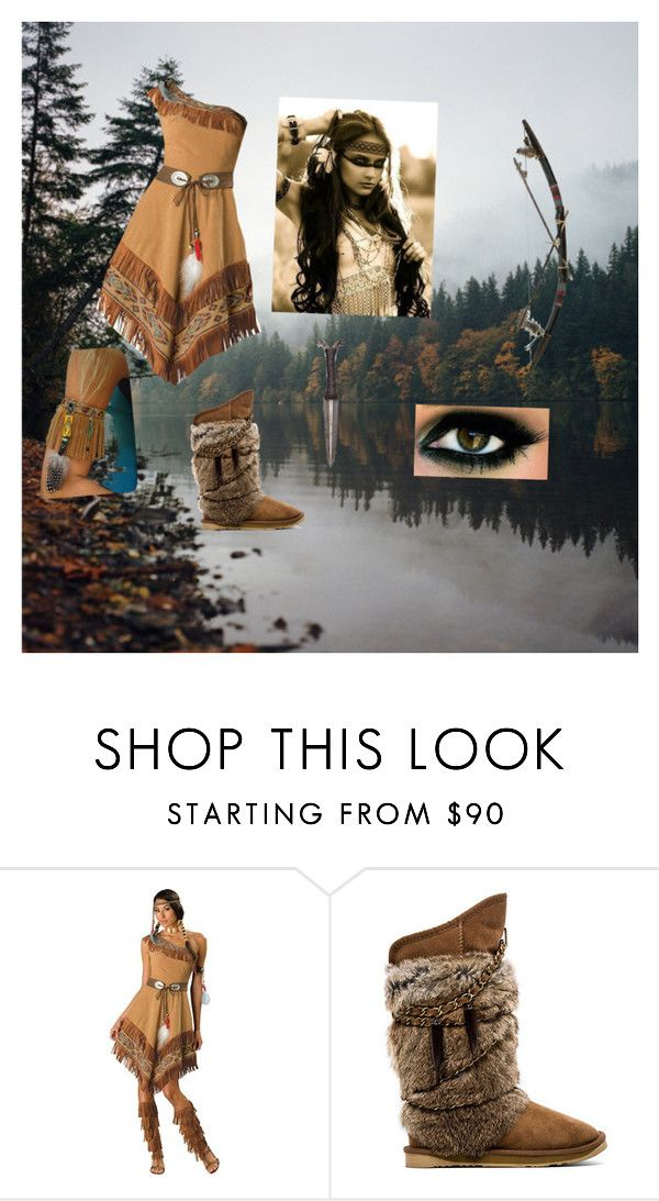 """Native American"" by paigemwolf ❤ liked on Polyvore featuring Australia Luxe Collective"