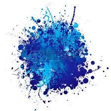 Resultado De Imagen De Dibujos De Manchas De Pintura Blue Abstract Paint Splatter Blue Paint