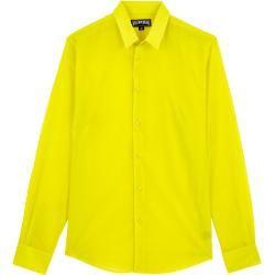 Pap Unisexe Adulte - Solid Unisex Hemd aus Baumwollvoile - Hemd - Caracal - Grün - Xxs - Vilebrequin #cottonstyle