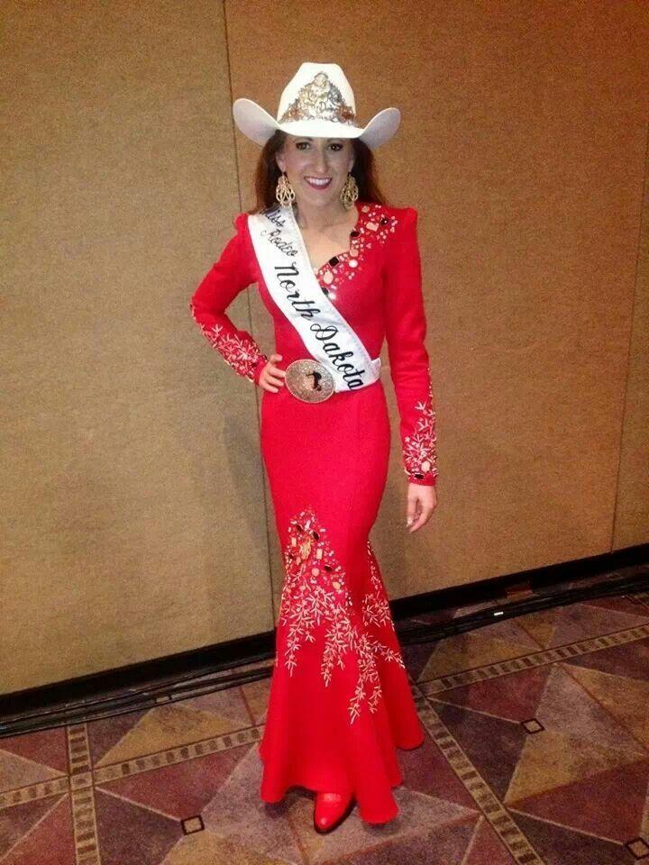 2017 Miss Rodeo North Dakota Love This Dress
