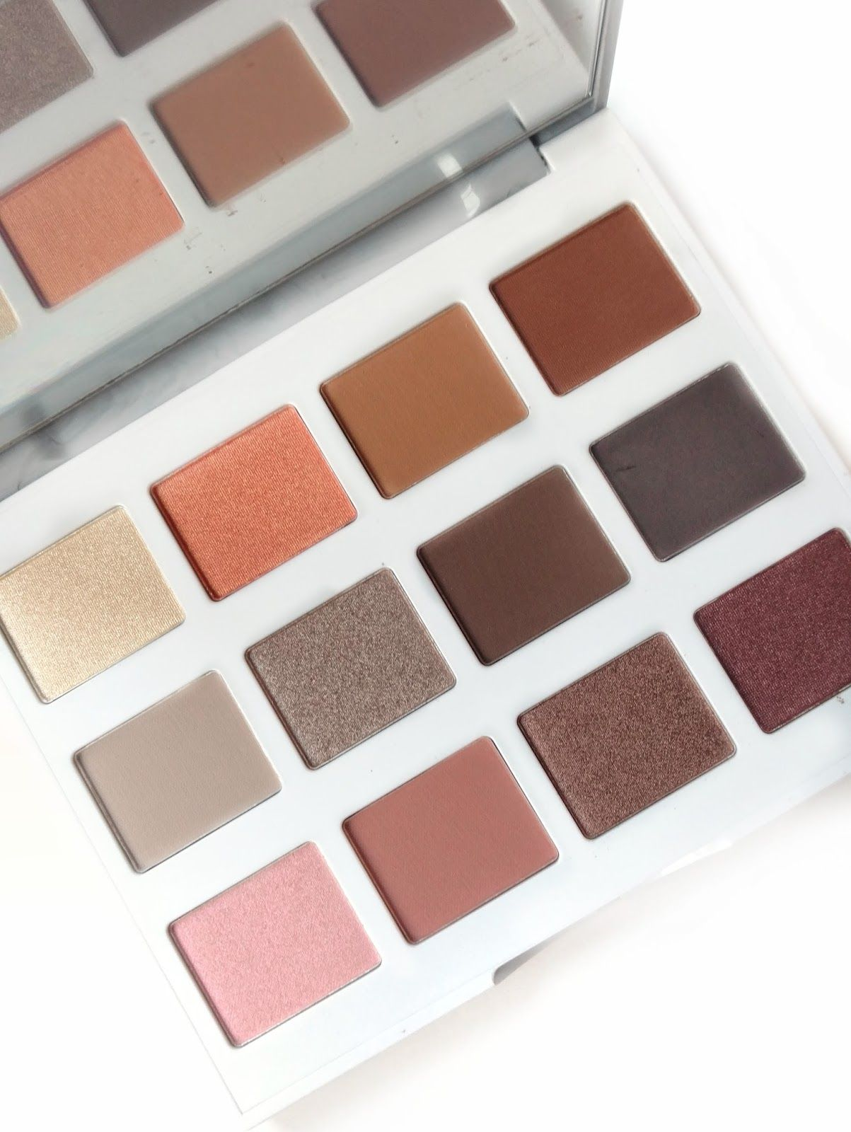Bh Cosmetics Marble Collection Warm Stone Palette Review