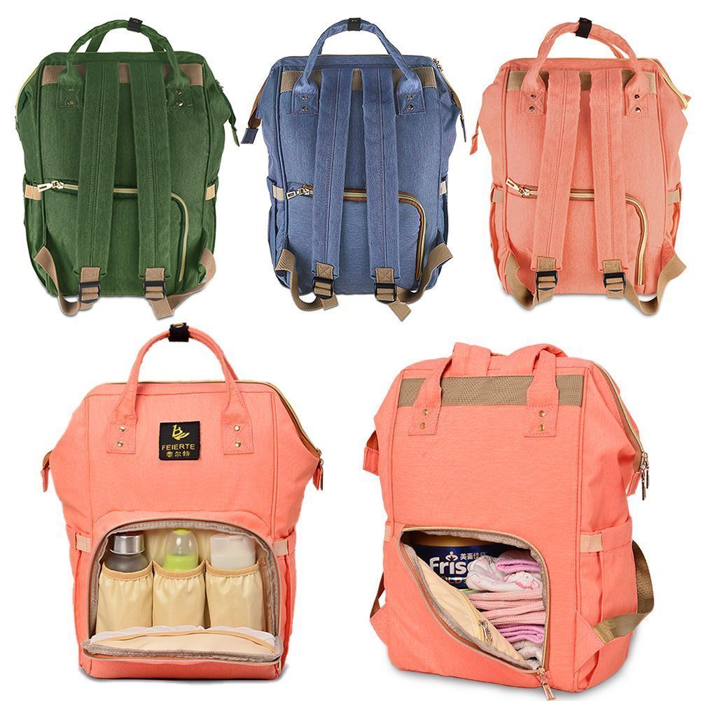 b79a47b33466 Baby registry · Polyester Large Capacity For Mummy Maternity Nappy Nursing  Bag Travel Backpack