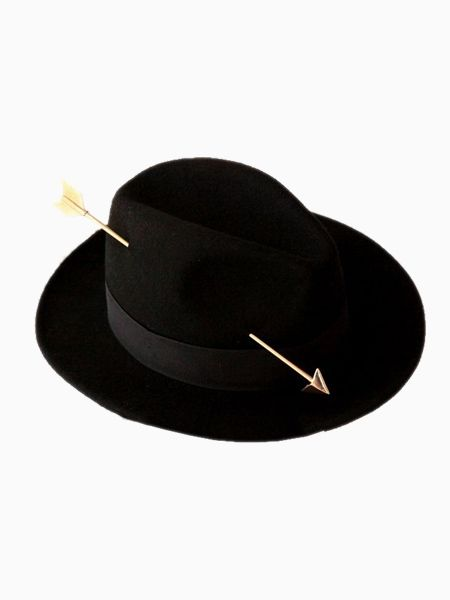2b341dd46d2 New Look Black Cupid Match-Up Felt Fedora (Women or Men) - Choies ...