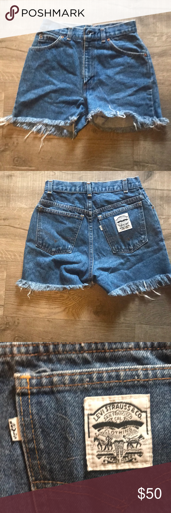 52928e0c0f8 Levi short Great condition Levi s !! ) deff the mom jean high waisted feel
