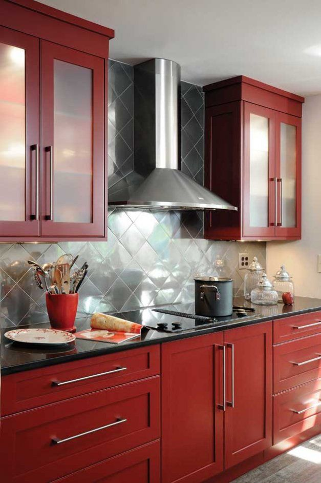 Housetrends Featured Professional Dayton Cabinet Creations Design Gallery,  Inc.   Cooking Up Intrigue