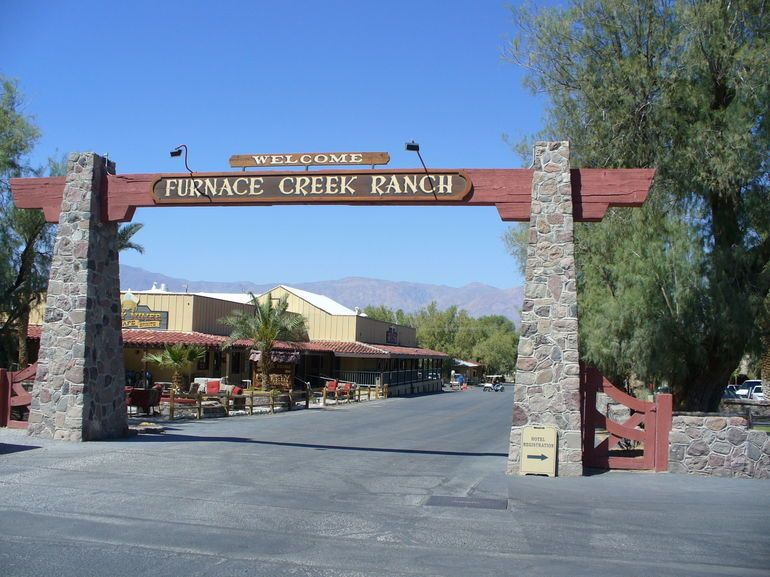 Here's where we stayed in Death Valley