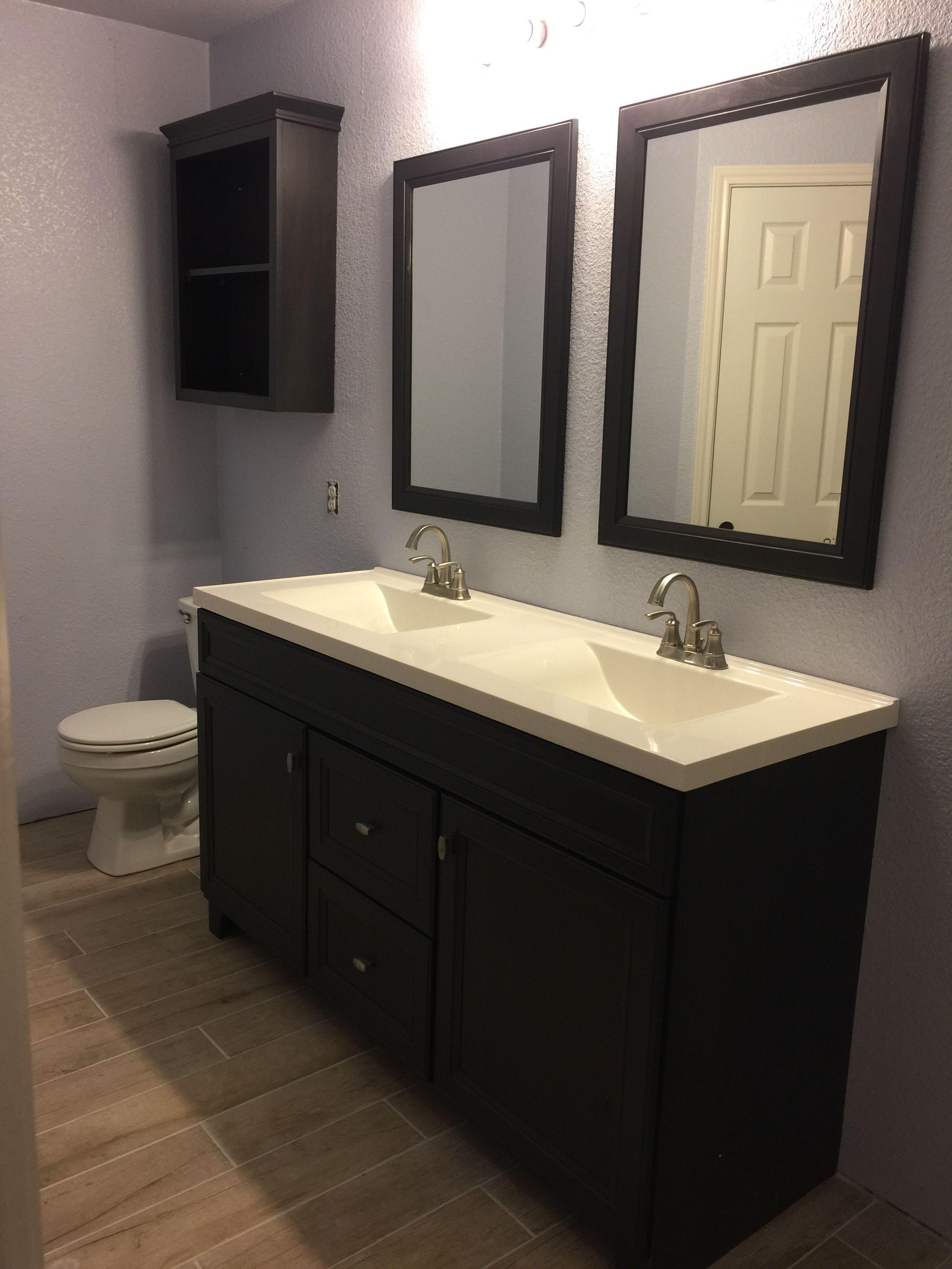 Peachy Master Bathroom Diamond Fresh Fit Goslin 60 Vanity Home Interior And Landscaping Elinuenasavecom