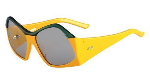 Fendi 5340 Sunglasses (799) YELLOW GREEN - $268