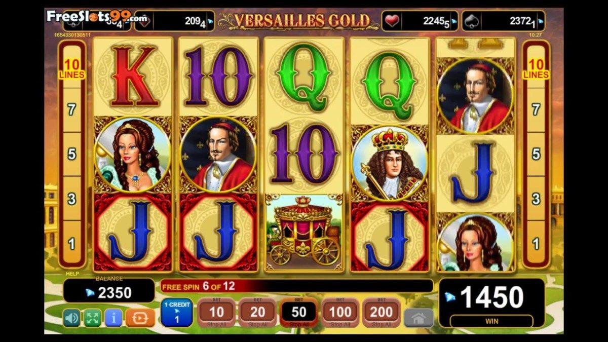 Versailles Gold On The Net Slot Reward Match Casino Slot Free Slots