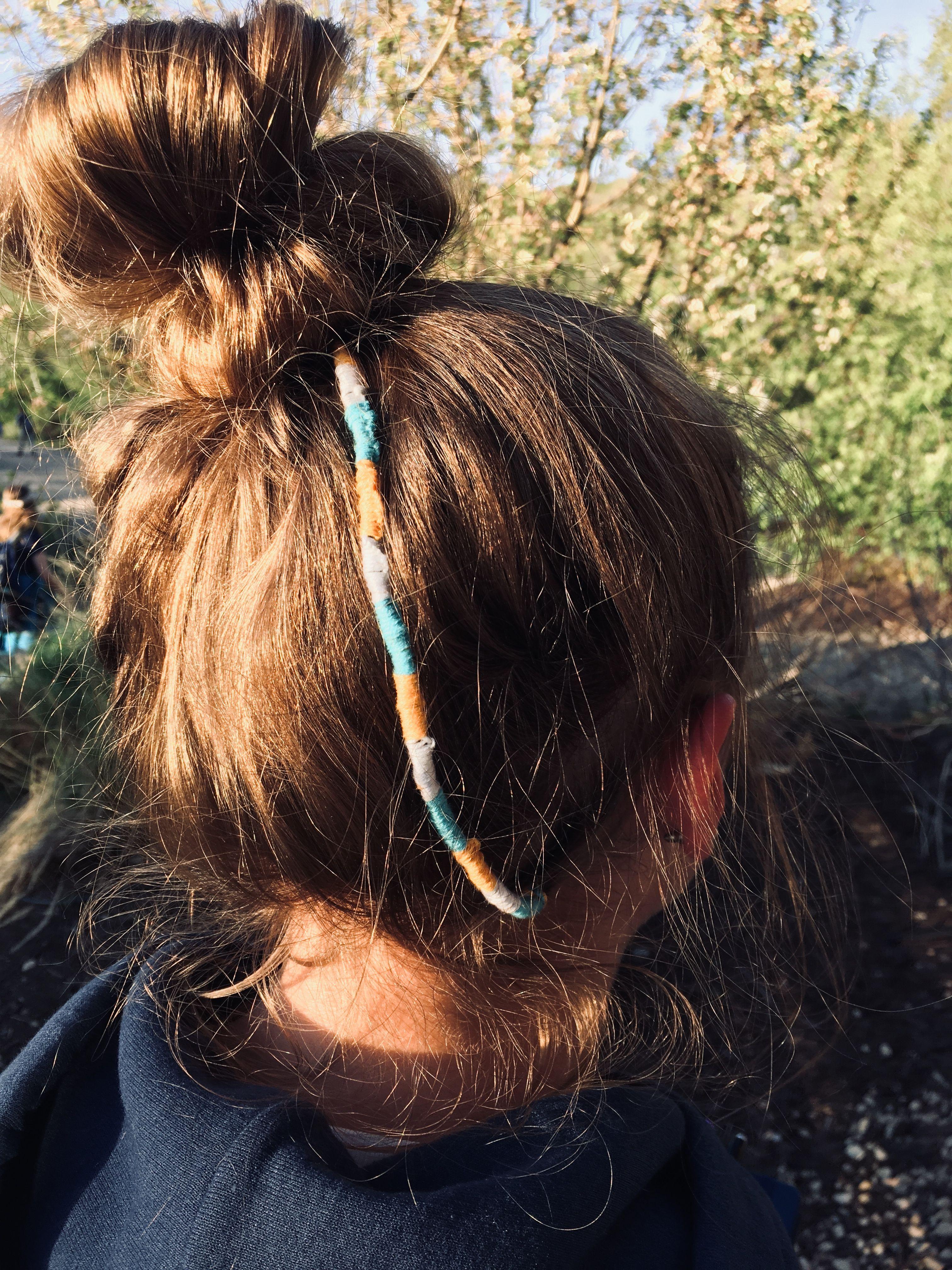 Jedi Braid Hair Wrap Diy Thread Hair Wraps Hair Wraps