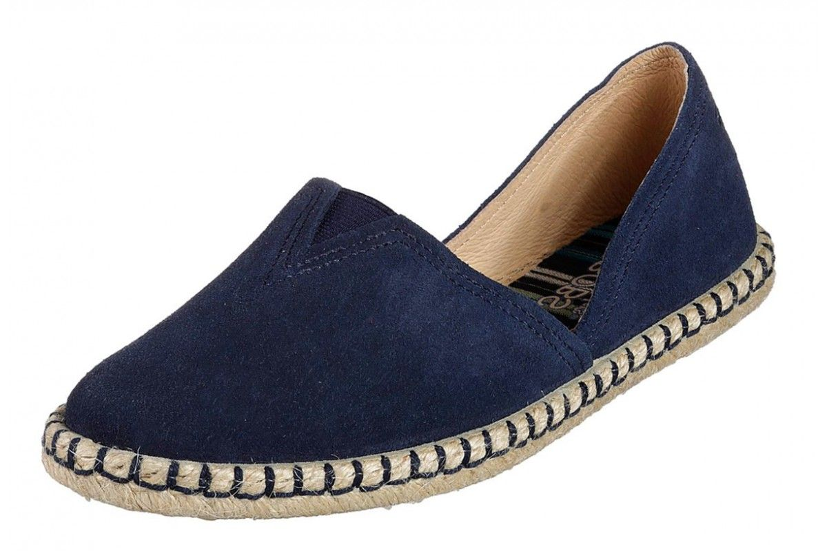 ca34046ba50 Skechers Bobs Day To Night Navy Suede Memory Foam Espadrille Shoes ...