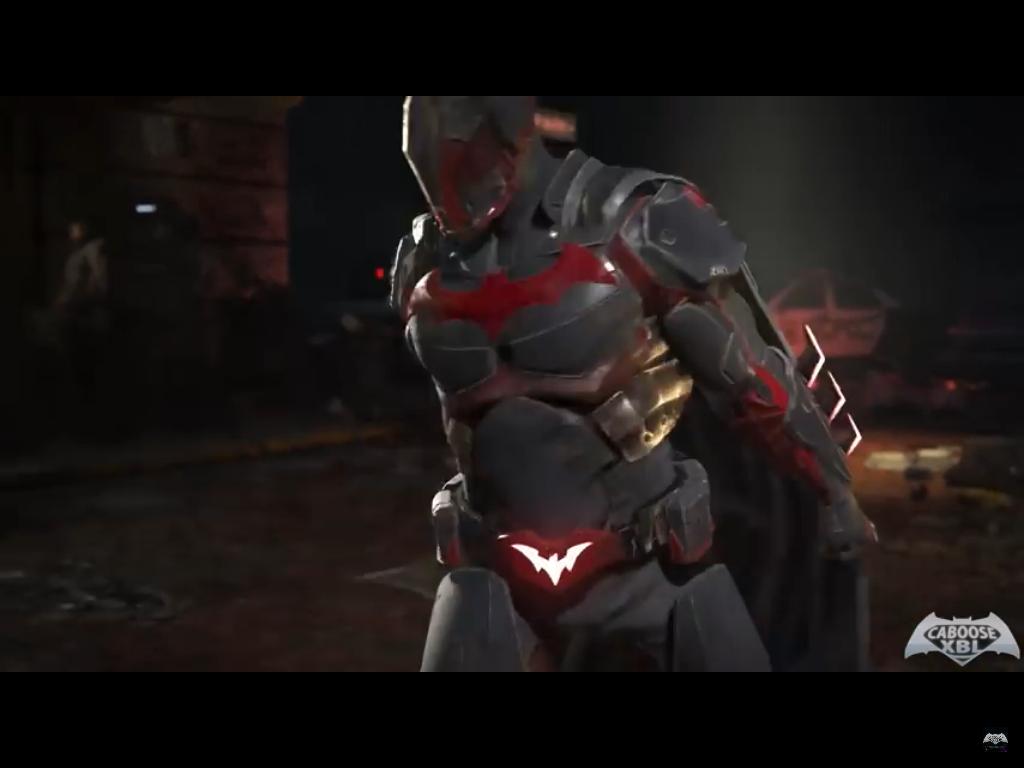 batman beyond alternate shader win pose injustice 2