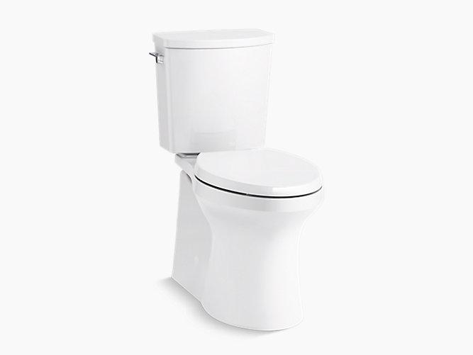 Irvine Comfort Height Chair Height Skirted Toilet 1 28 Gpf K 20450 Kohler Kohler Toilet Kohler Chair Height