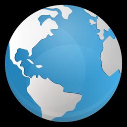Globe Icon Blue Bits Iconset Icojam Globe Icon Globe Image Globe