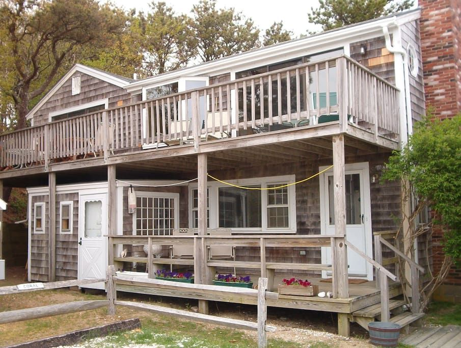 30 Steps to the Beach Houses for Rent in Wellfleet