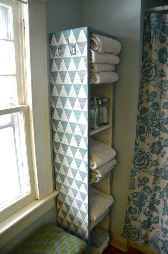 Paint Stirrer BILLY Bookcase Makeover | T14: Badezimmer | Pinterest ...