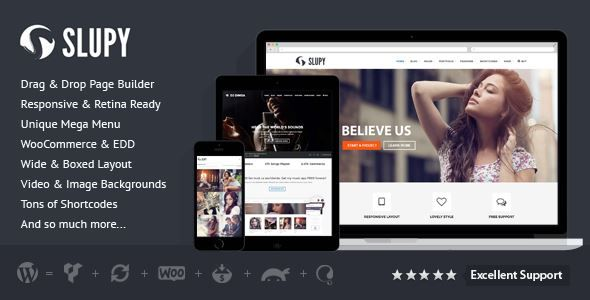 Download Slupy Responsive Multi-Purpose WordPress Theme | Download ...