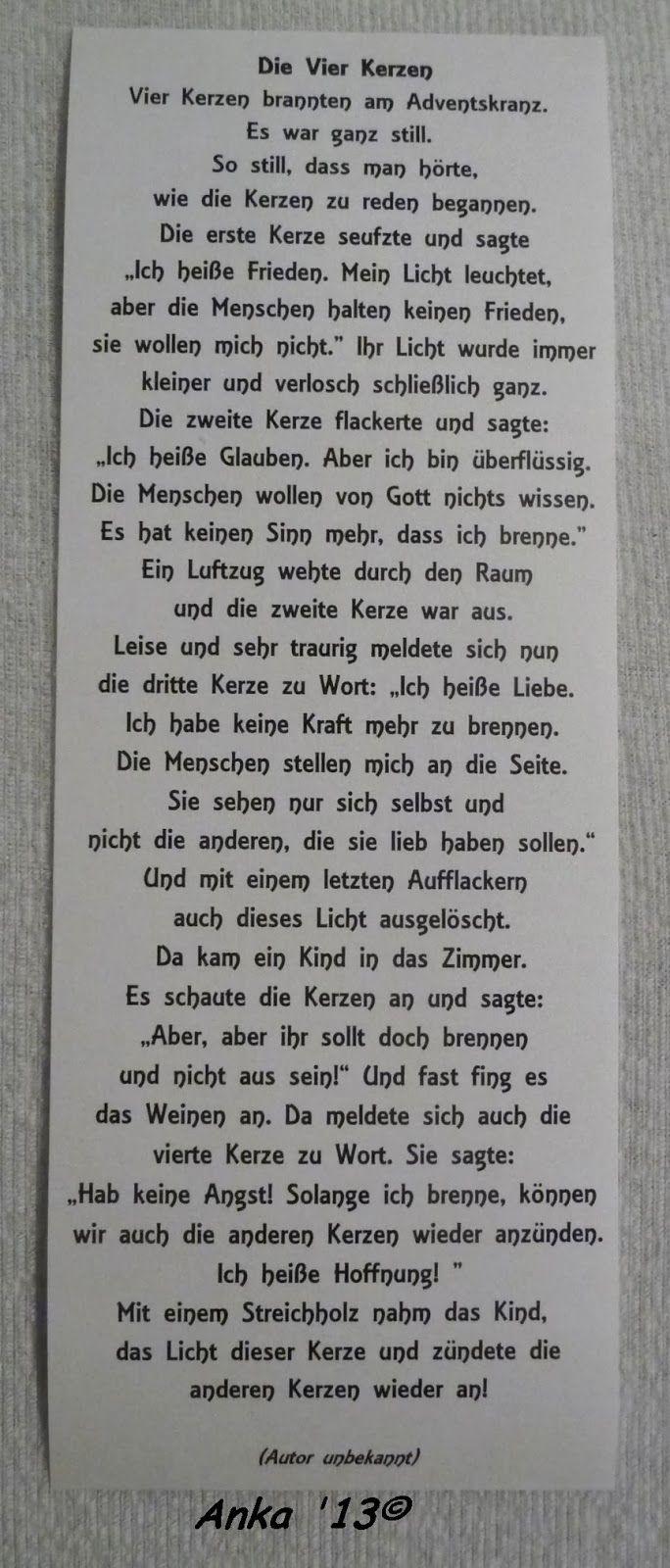 Pin Von Heidi Auf Verse Weihnachten Gedicht Weihnachten