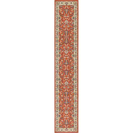 Unique Loom Kashan Terracotta Area Rug, Orange