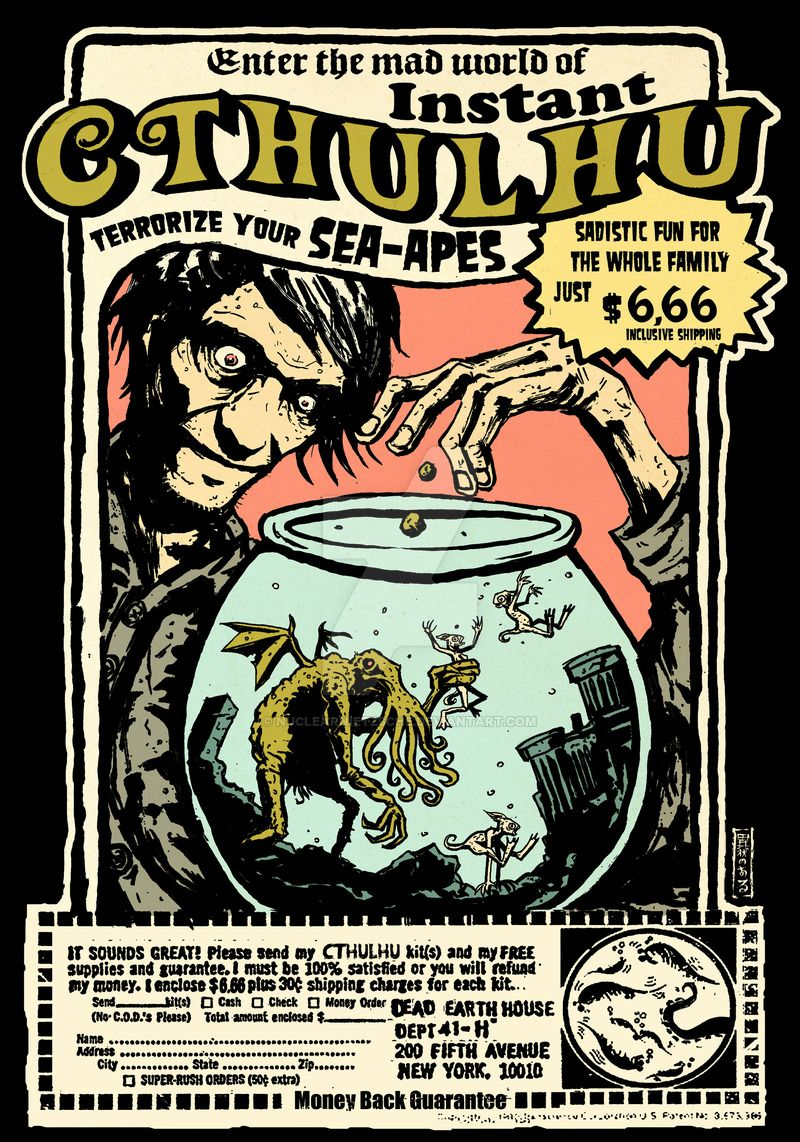 Create Your Own Book Cover Art ~ Instant cthulhu by nuclearnietzsche h p lovecraft movie