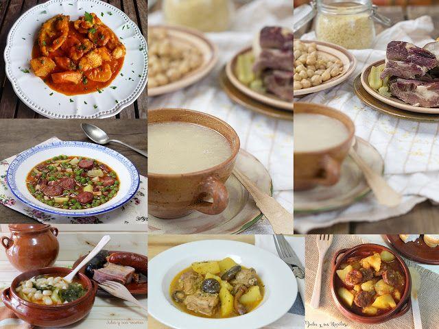 Guisos, cocidos, calderetas...¿tienes ya la cuchara a mano para disfrutar de estos platos que nos recomienda la autora del blog JULIA Y SUS RECETAS?