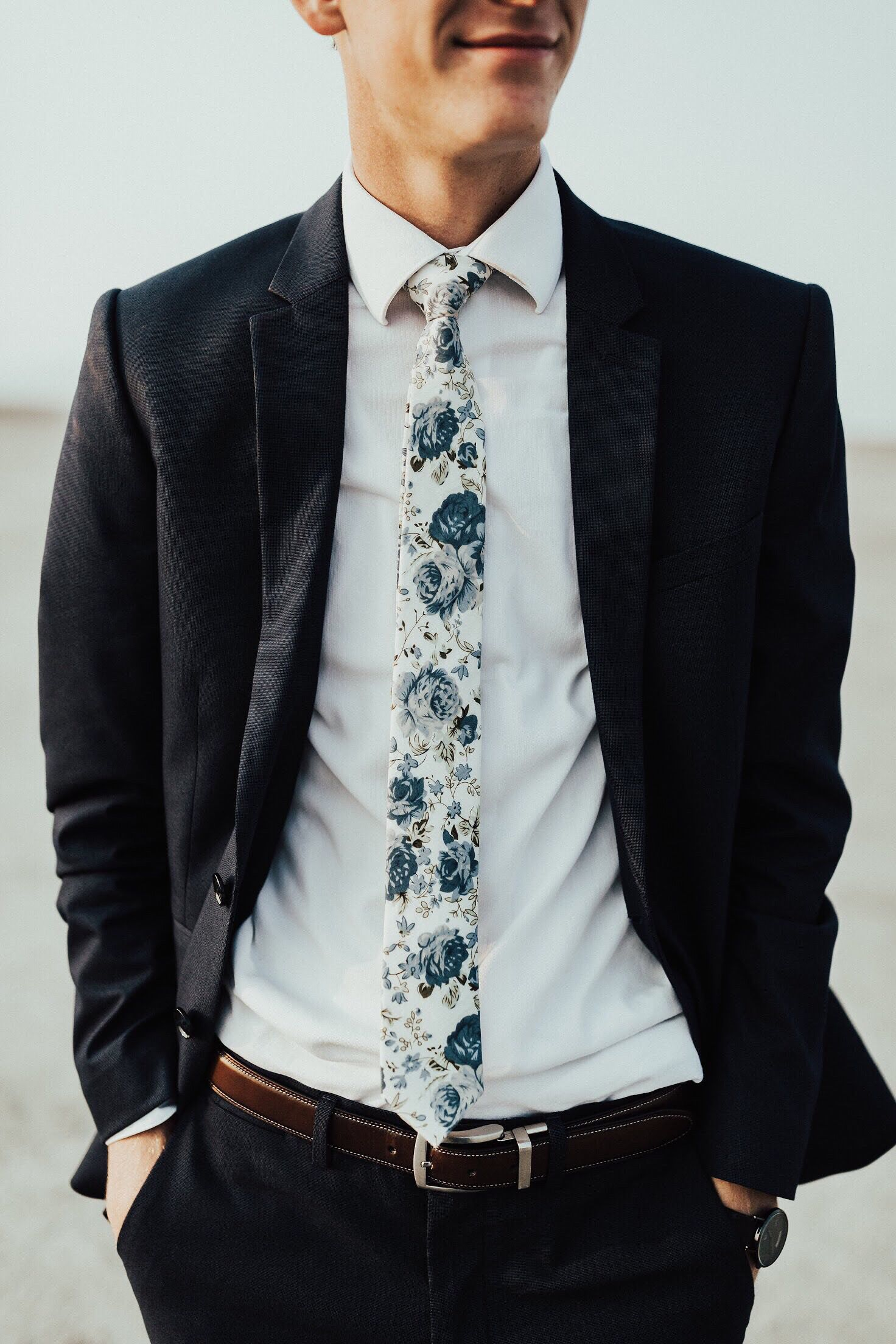 Reception Skinny Tie for Wedding Boys Gift Tie Formal Party