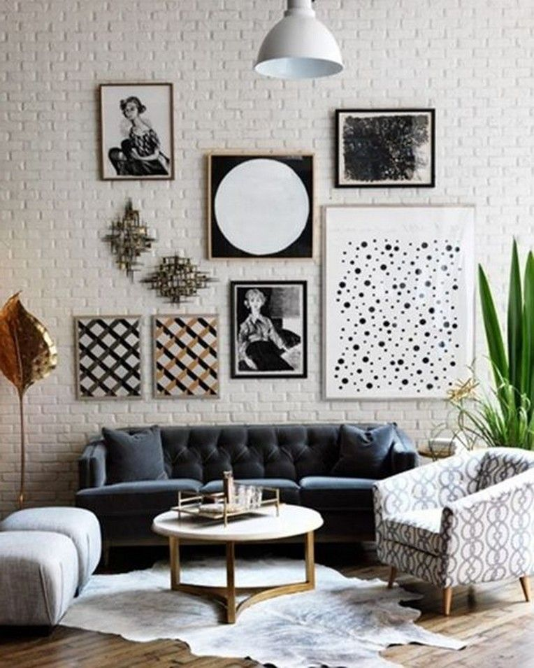 36 Luxurious Black And White Living Room Ideas Living Room White Black And White Living Room White Living Room What does living room means
