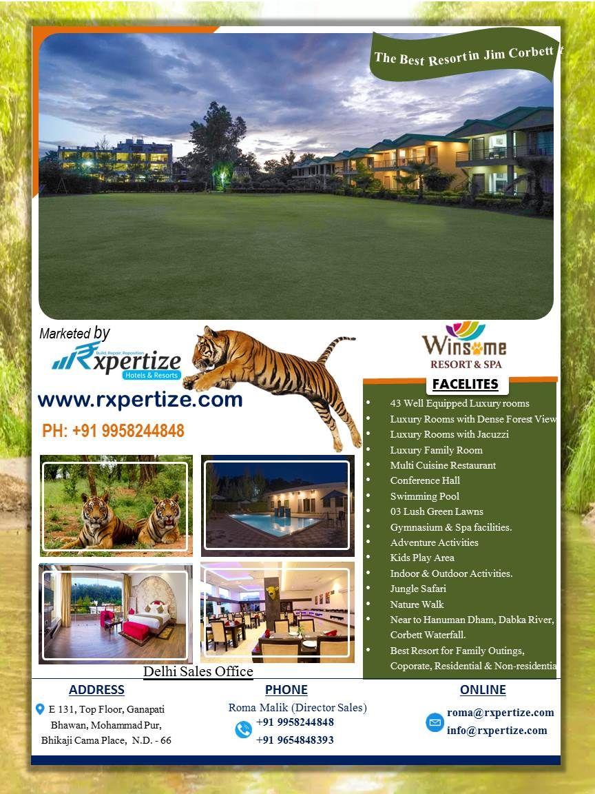 Winsome Resorts Spa Jim Corbett Resort Spa Green Lawn Resort