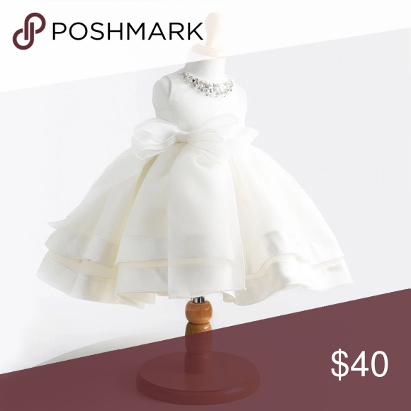 97d9a418e baby girl white baptism dress New size -12m-5t Dresses Casual | My ...