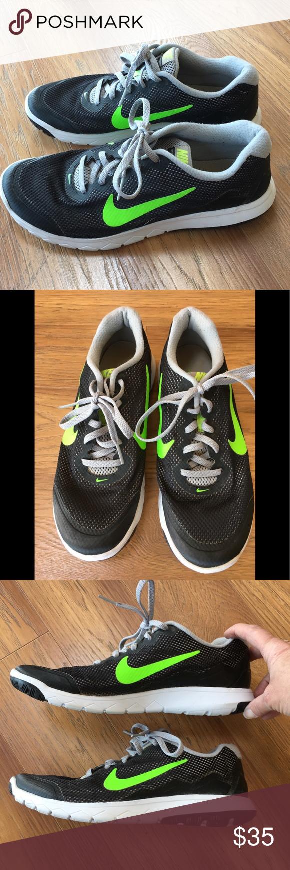 4846e89c1f58 ... greece nike flex experience rn4 black yellow nike flex experience rn4  running shoe in black and