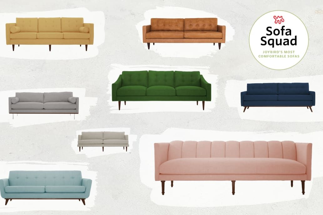 Reviewed The Most Comfortable Sofas At Joybird Comfortable Sofa