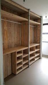 Image result for creatieve steigerbuis houten kasten #palletbedroomfurniture
