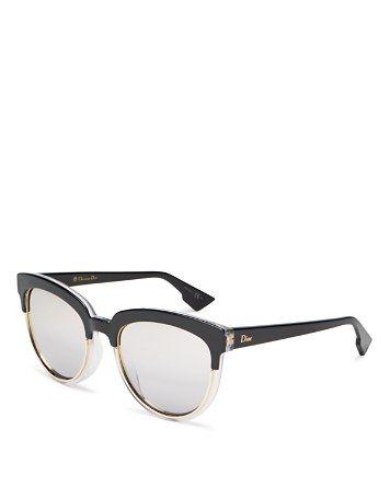 a2267125a8a0 Dior Sight Mirrored Cat Eye Sunglasses