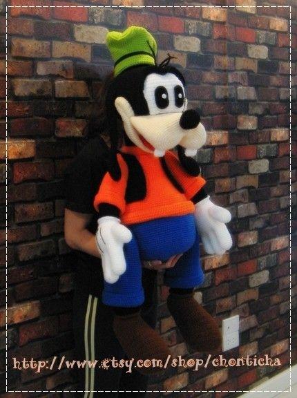 Goofy 40 Inches Pdf Amigurumi Crochet Pattern Amigurumi Pdf And