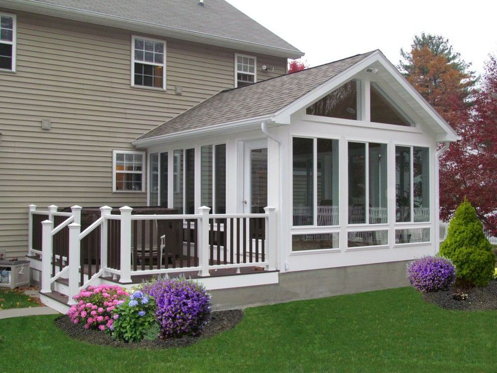 Fiesta factory direct for a spaces with a sunroom and for 4 season porch plans