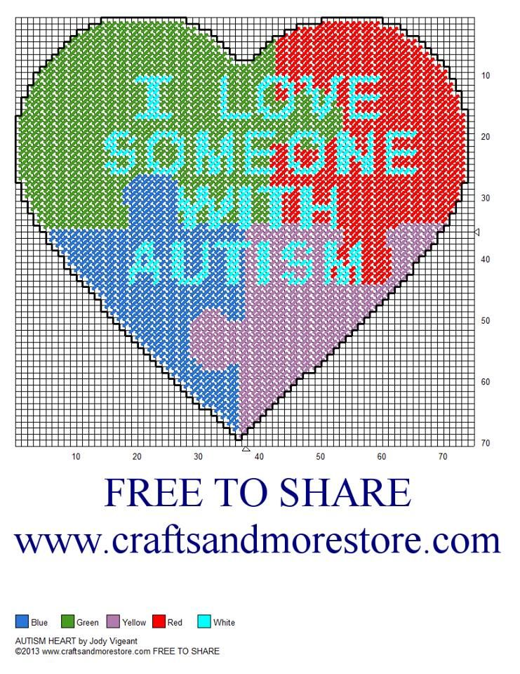 Autism Heart. Must must use this to raise money for The ...