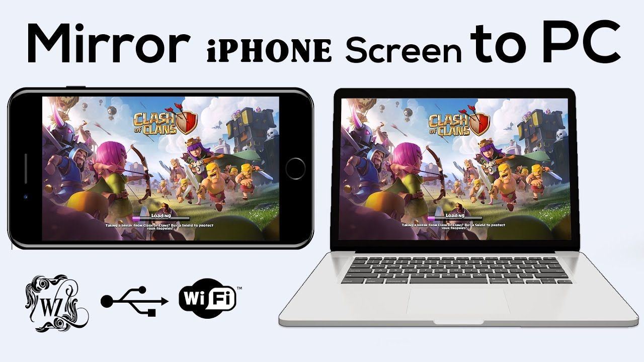 NEW Best Methods 2017 to Share iphone screen to PC free