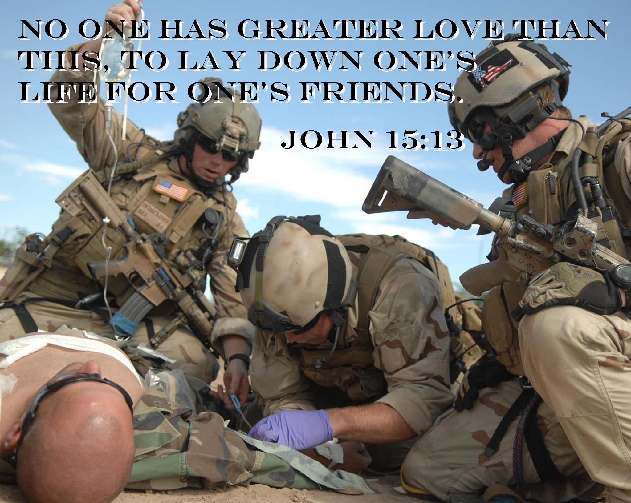 US Air Force Pararescue - John 15:13
