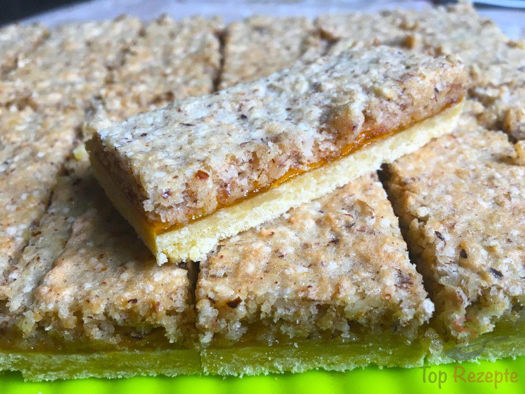 Fantastischer Kuchen mit Nussbaiser | Top-Rezepte.de #bananadessertrecipes