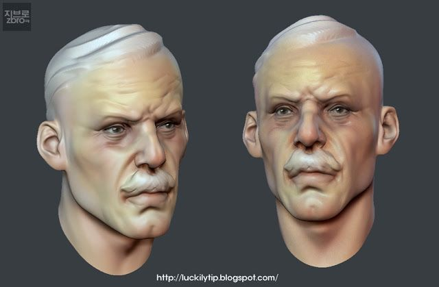 daily sculpt & WIP