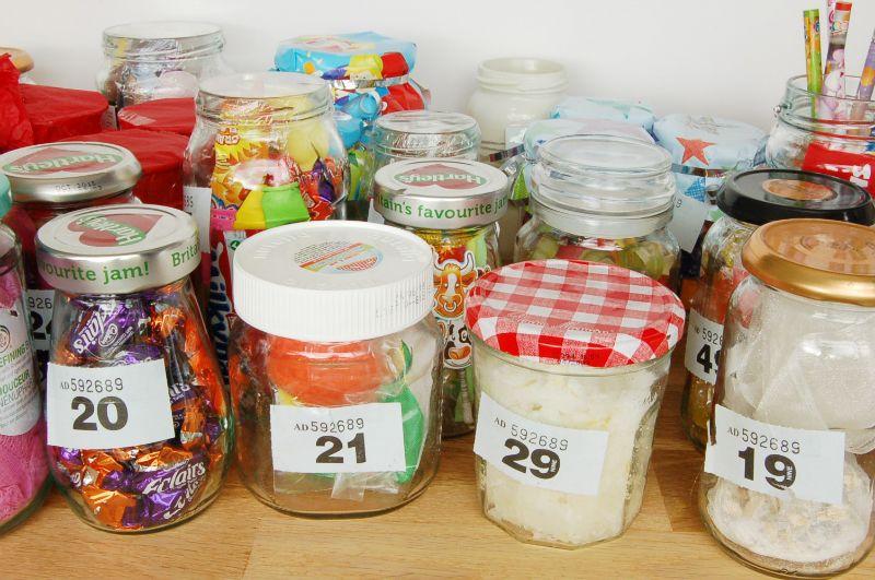 20 Jam Jar Tombola Ideas Christmas Fair Ideas Jam Jar Christmas Fayre Ideas