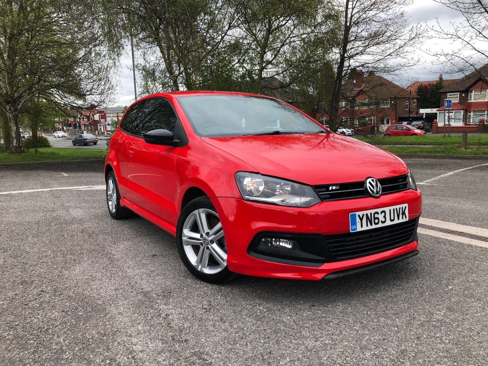 Ebay 2013 Vw Polo R Line 1 2 Tsi Red 3 Door Damaged Repaired