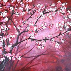 Dessin Cerisier Japonais