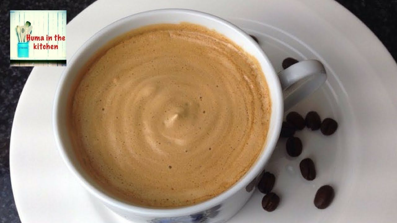Coffee Recipe Without Machine in 5 minutes Frothy Creamy