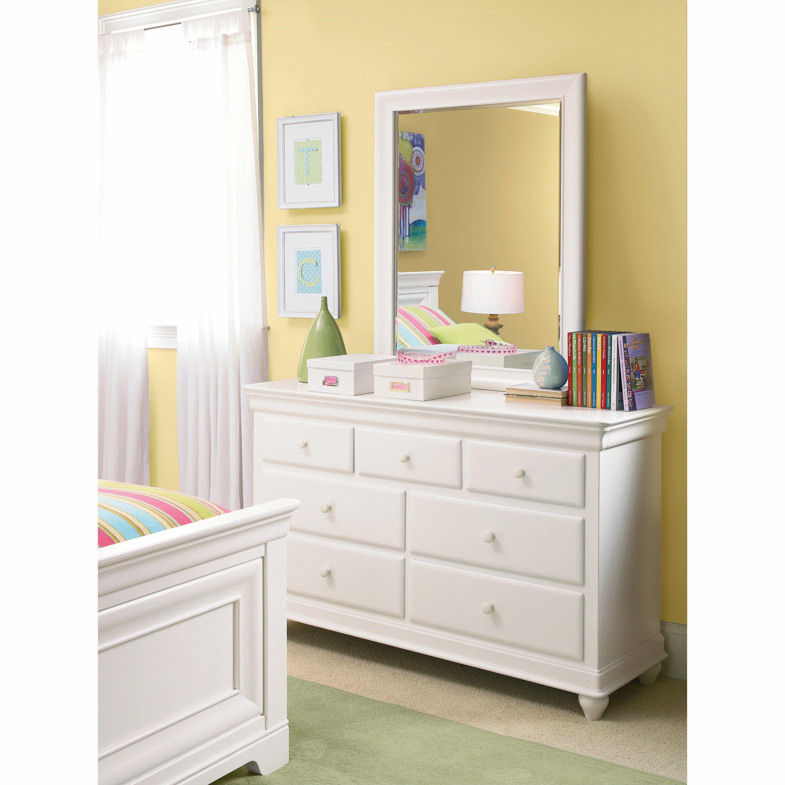 smartstuff Classics 4.0 Summer White 7 Drawer Dresser 7