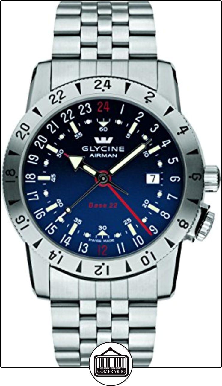 GLYCINE AIRMAN BASE 22 relojes hombre 3887.18 MB  ✿ Relojes para hombre - (Lujo) ✿ ▬► Ver oferta: http://comprar.io/goto/B00VAFONZM